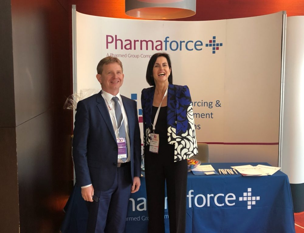 Pharmaforce exhibit at the PMI 30th Annual Business Day