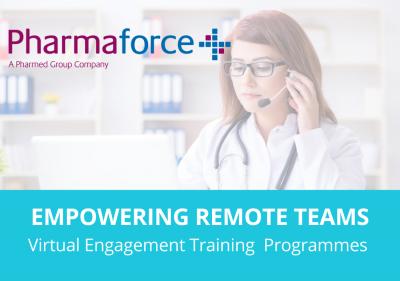 Remote Teams -Pharmaforce Virtual Engagement Training Programmes